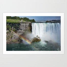 Niagara Falls in Summer Art Print