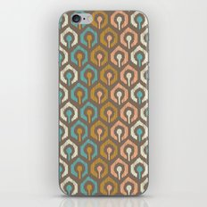 Honeycomb IKAT - Cocoa iPhone & iPod Skin