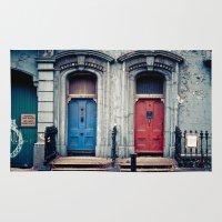 doors Area & Throw Rugs featuring The Doors by unaciertamirada