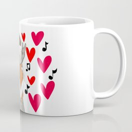 The love of a cat is so special Coffee Mug