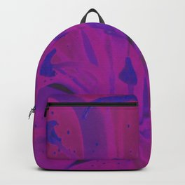 Star Gazer Lilly Up Close Solarized colors #2 Backpack