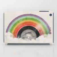 rainbow iPad Cases featuring Rainbow Classics by Florent Bodart / Speakerine