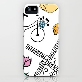 Amsterdam Love iPhone Case