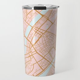 Copenhagen map Travel Mug