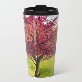 A little tree Metal Travel Mug