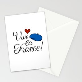 Vive la France! Stationery Cards