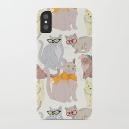 Accessory Cats iPhone Case