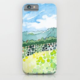 Tumbledown Mountain View, Maine iPhone Case