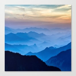 Mountains 11 Canvas Print