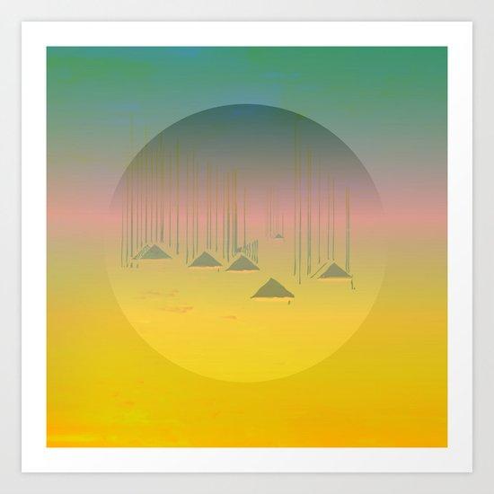 Archipelago 7 Islands / 19-01-17 Art Print