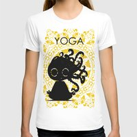 yoga T-shirts featuring Yoga by BLOOP
