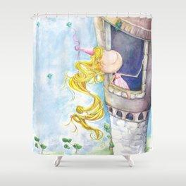 Princess Rapunzel Shower Curtain