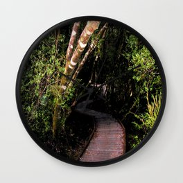 """The Franklin–Gordon Wild Rivers National Park""  Wall Clock"