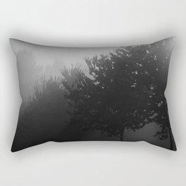 Trees in the Mist (1) Rectangular Pillow