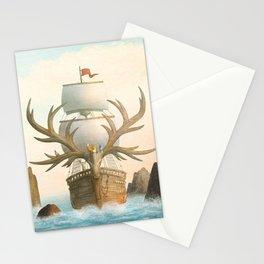 The Antlered Ship - Jacket Stationery Cards