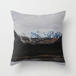 View Across the Valley Throw Pillow