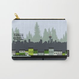 Seattle in Color Carry-All Pouch