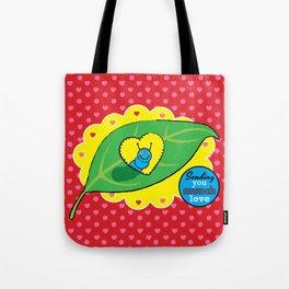 Lovebugs - Sending you munch love Tote Bag
