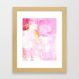 Sugar Coded Framed Art Print