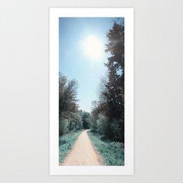Path ∆ Art Print