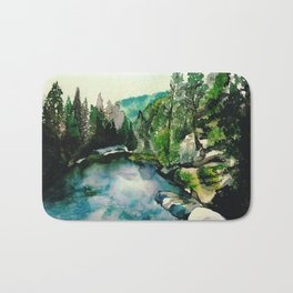 Merced River Bath Mat
