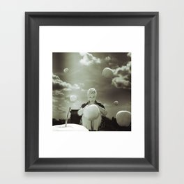 weekend orchestra Framed Art Print