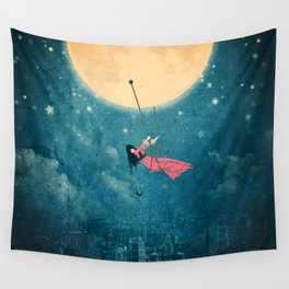 While the city sleeps... Wall Tapestry