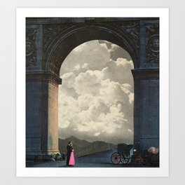 Cloud Arch Art Print