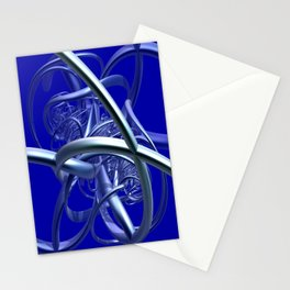 metal crazy pipes Stationery Cards