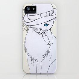 Bad Cat iPhone Case