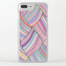 TROPICAL TWO Clear iPhone Case