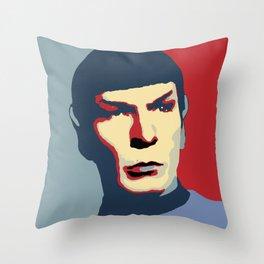 Spock Throw Pillow