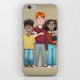Dorky Kids Go To Private School iPhone Skin