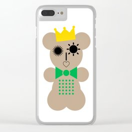"""Bear with me"" Clear iPhone Case"