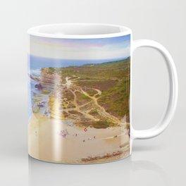 ericeira beach sunset Coffee Mug