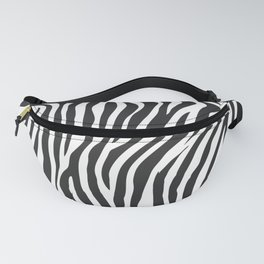 Zebra Stripes Wild Animal Print Fanny Pack