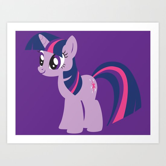 Twilight Sparkle Art Print