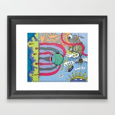 use your imagination Framed Art Print