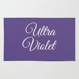 Ultra violet 2018 color Rug