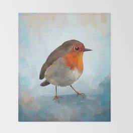 Robin Throw Blanket