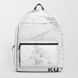 Minimal City Maps - Map Of Kutaisi, Georgia. Backpack