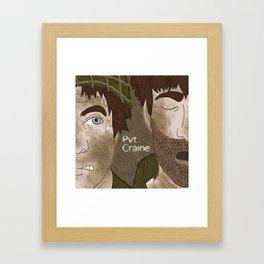 Prv. Craine Framed Art Print