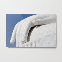 Hand of Buddha Metal Print