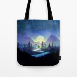 Touching the Stars Tote Bag