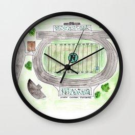 North Oldham High School Field, Kentucky, Mustangs Wall Clock