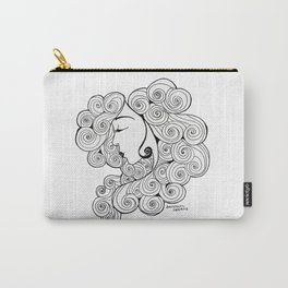 Spiral Hair Carry-All Pouch