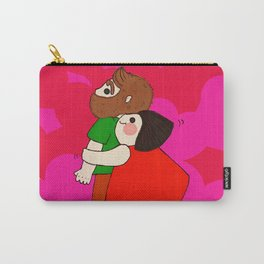 Jumping Hug Carry-All Pouch