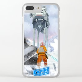 Slay The Dragon Clear iPhone Case