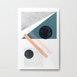 LOLA_3 abstract landscape Metal Print