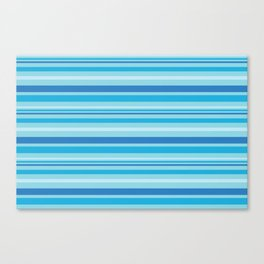 Bright Blue Hues Canvas Print